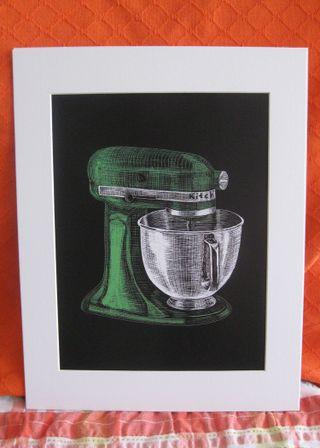 Mixer-Green